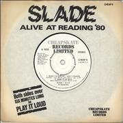 Click here for more info about 'Slade - Alive At Reading '80 EP - 4pr'