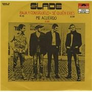 """Slade Baja Y Consíguelo - Get Down & Get With It Mexico 7"""" vinyl"""