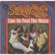 """Slade Come On Feel The Noize Yugoslavia 7"""" vinyl"""