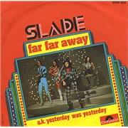 "Slade Far Far Away France 7"" vinyl"