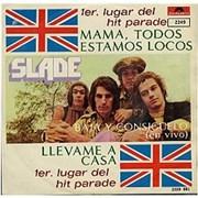 """Slade Mama Todos Estamos Locos Mexico 7"""" vinyl"""