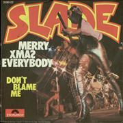 """Slade Merry Xmas Everybody Germany 7"""" vinyl"""