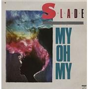 "Slade My Oh My - Red Vinyl Mexico 12"" vinyl"