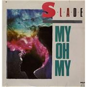 "Slade My Oh My Mexico 12"" vinyl Promo"