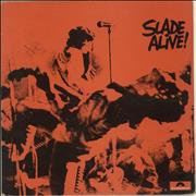 Slade Slade Alive! - EX UK vinyl LP