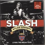 Click here for more info about 'Slash - Living The Dream Tour - 180gm Red Vinyl - Sealed'