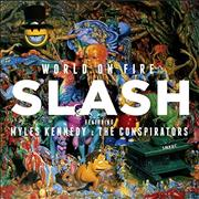 Click here for more info about 'Slash - World On Fire - CD + T-Shirt Small'