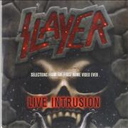 Click here for more info about 'Slayer - Live Intrusion - Selections From The First Home Video Ever'
