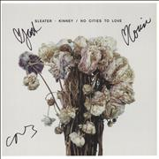 Click here for more info about 'Sleater-Kinney - No Cities To Love - Autographed'