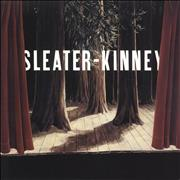 Click here for more info about 'Sleater-Kinney - The Woods - Green Marbled & Etched Brown Vinyl'