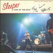 Click here for more info about 'Sleeper - Live At The Ritz - RSD19 - Atlantic Pearl Vinyl + Autographed'