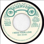 Click here for more info about 'Slim Smith - I Need Your Love / Silver Words'