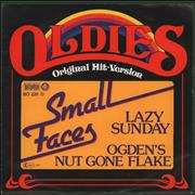 Click here for more info about 'Small Faces - Lazy Sunday / Odgen's Nut Gone Flake'