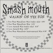 Click here for more info about 'Smash Mouth - Walkin' On The Sun Remixes'