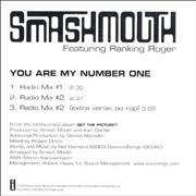 Click here for more info about 'Smash Mouth - You Are My Number One'