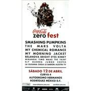 Click here for more info about 'Smashing Pumpkins - Coca-Cola Zero Fest'