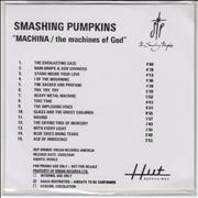 Click here for more info about 'Smashing Pumpkins - MACHINA / The Machines Of God'