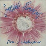 "Smashing Pumpkins Siva/Window Paine UK 12"" vinyl"