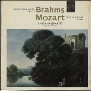 Click here for more info about 'Smetana Quartet - Brahms: Quintet in B Minor Op.115 / Mozart: Duo in G Major K.423'