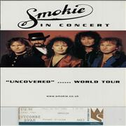 Click here for more info about 'Smokie - Uncovered: The World Tour - Fully Autographed + ticket stub'