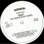 Click here for more info about 'Snap! - The World In My Hands'