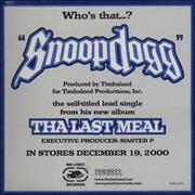 Click here for more info about 'Snoop Doggy Dogg - Snoop Dogg'