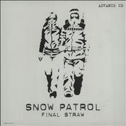 Click here for more info about 'Snow Patrol - Final Straw'