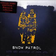 Click here for more info about 'Snow Patrol - Live And Acoustic At Park Ave.'