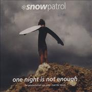 Click here for more info about 'Snow Patrol - One Night Is Not Enough'