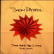 Click here for more info about 'Snow Patrol - Take Back The Cities 2009 Tour'