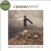 Click here for more info about 'Snow Patrol - When It's All Over We Still Have To Clear Up + Bonus 7