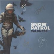 Click here for more info about 'Snow Patrol - Wildness - Autographed Display'