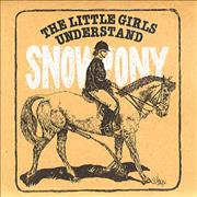 Click here for more info about 'Snowpony - The Little Girls Understand + envelope'