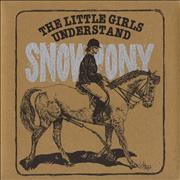 Click here for more info about 'Snowpony - The Little Girls Understand + envelope - Sealed'