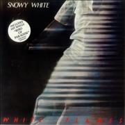Click here for more info about 'Snowy White - White Flames - stickered p/s'