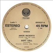 Click here for more info about 'Soft Cell - Amor Incierto'