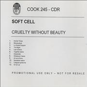 Click here for more info about 'Soft Cell - Cruelty Without Beauty'