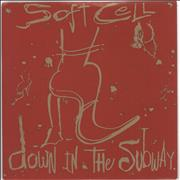 Click here for more info about 'Soft Cell - Down In The Subway - Inj'