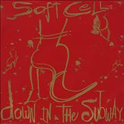 "Soft Cell Down In The Subway UK 12"" vinyl"