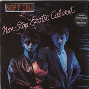 Click here for more info about 'Soft Cell - Non-Stop Erotic Cabaret - Stickered Sleeve'