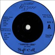 Click here for more info about 'Soft Cell - Tainted Love - Blue injection'