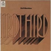 Soft Machine Third - export USA 2-LP vinyl set