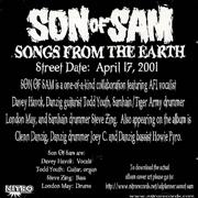 Click here for more info about 'Son Of Sam - Songs From The Earth'
