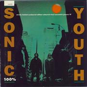 Click here for more info about 'Sonic Youth - 100% - Orange Vinyl - EX'