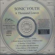 Click here for more info about 'Sonic Youth - A Thousand Leaves'