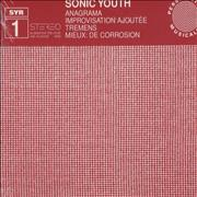 Sonic Youth Anagrama France CD single