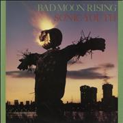 Sonic Youth Bad Moon Rising - EX UK vinyl LP