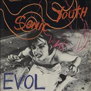 Click here for more info about 'Sonic Youth - Evol + US p/s'