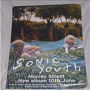 Sonic Youth Murray Street UK poster Promo