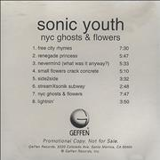 Click here for more info about 'Sonic Youth - NYC Ghosts & Flowers'